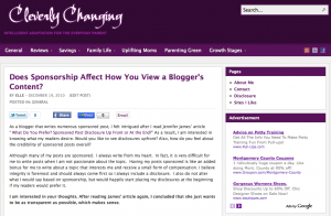 Does Sponsorship Affect How You View a Blogger's Content?