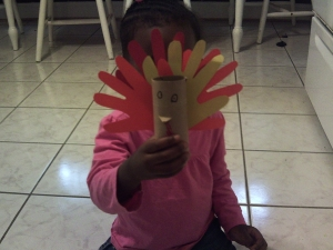 A Lesson About Thanksgiving for toddlers