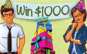 RSVP for the Swagbucks Party, YOU could win $1000. New code worth 110 points