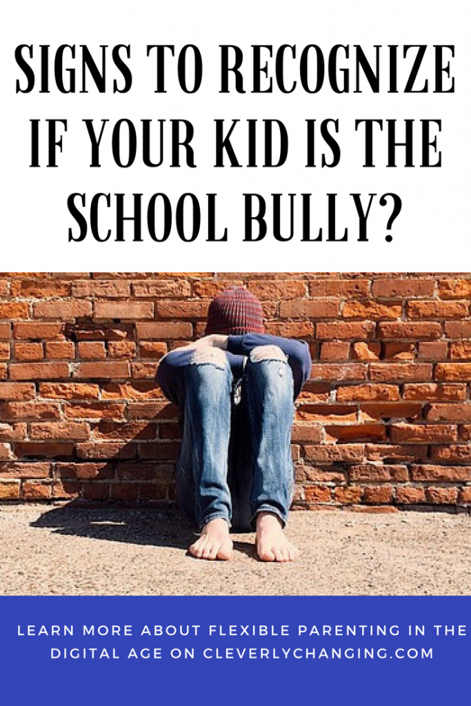 Signs to recognize if your kid is the school bully #cyberbully #school #parenting