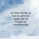 How To Get the Most Out of Conferences