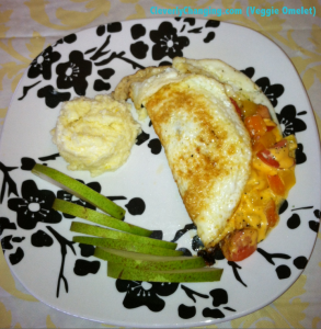 Cooking with Kids: Vegetarian Omelet Breakfast