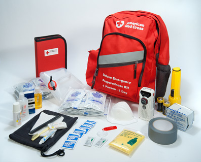 Deluxe Emergency Preparedness Kit (Adult, 3-Day)