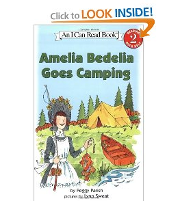 Amelia Bedelia Goes Camping by Peggy Perish