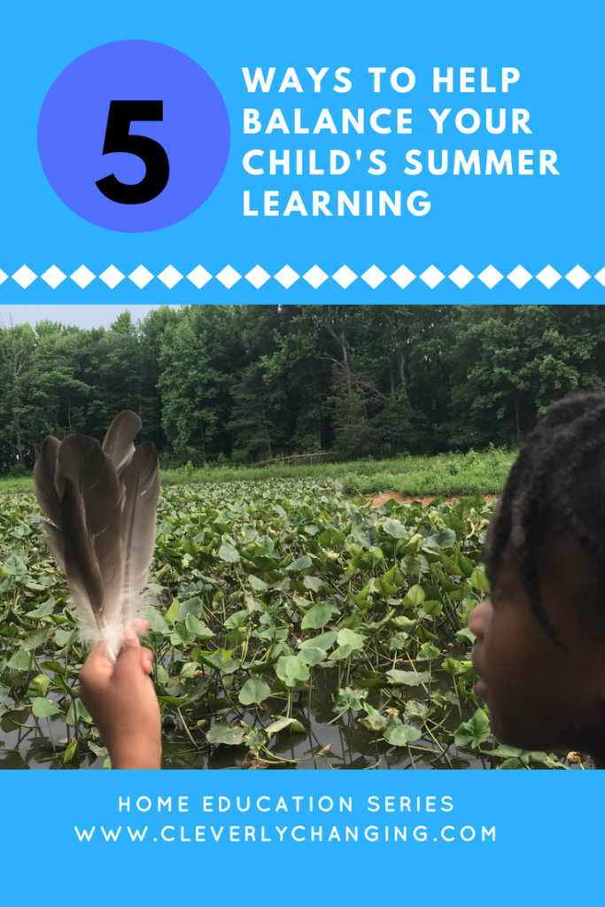 5 ways to balance summer learning