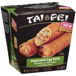 Tai Pei Vegetable Egg Rolls