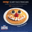 "Kids enjoy free ""Scary Face Pancakes"" at participating IHOP locations on October 31st. To find out more the Pancake Revolution at IHOP Facebook: https://www.facebook.com/IHOP Twitter: @IHOP Youtube: http://www.youtube.com/ihop   *This is not a sponsored post"