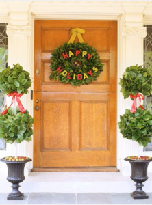 Holiday Door and entrance