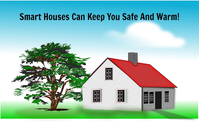 Smart Houses Keep You Safe — And Warm!