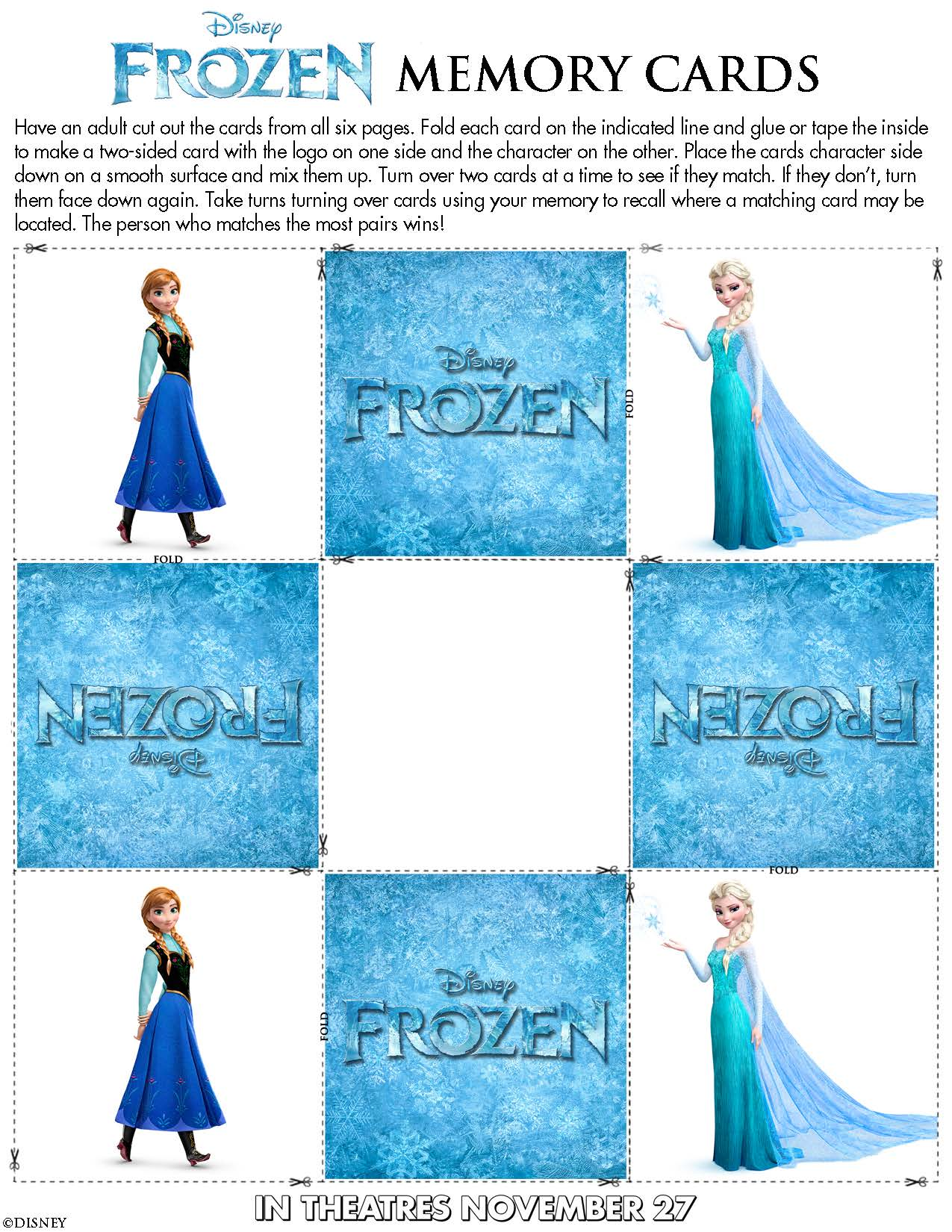 Colorful Activity Sheets From The Worksheet For Kids Disney S Frozen ...