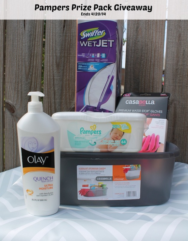 Enter to win a Pampers Wipes Gentle Clean Prize Pack #sponsored by Pampers