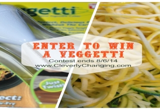 Veggetti Spiral Vegetable Cutter Review and Giveaway