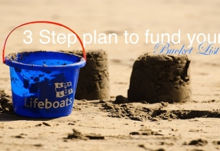 3 Step Plan to Fund Your Bucket List