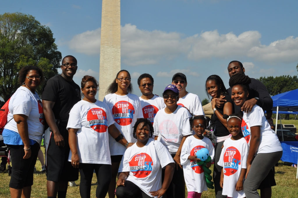 Raise awareness and help us Stomp Out Sickle Cell 5k 2014. #30forSickleCell