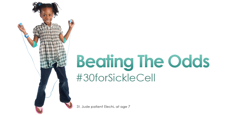 Beating The Odds #30forSickleCell