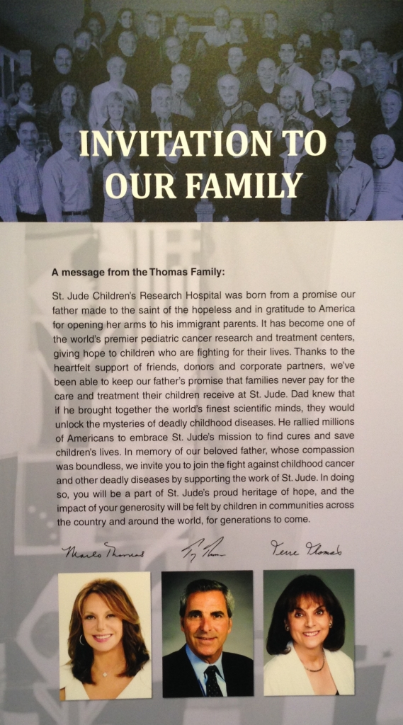 Danny Thomas' family, the founder of St.Jude. #charity