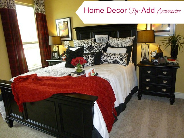 Add Accessories like pillows for frugal home decor