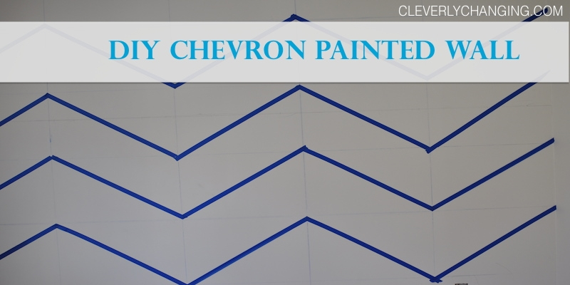 Get Kids Involved! DIY Chevron Painted Walls