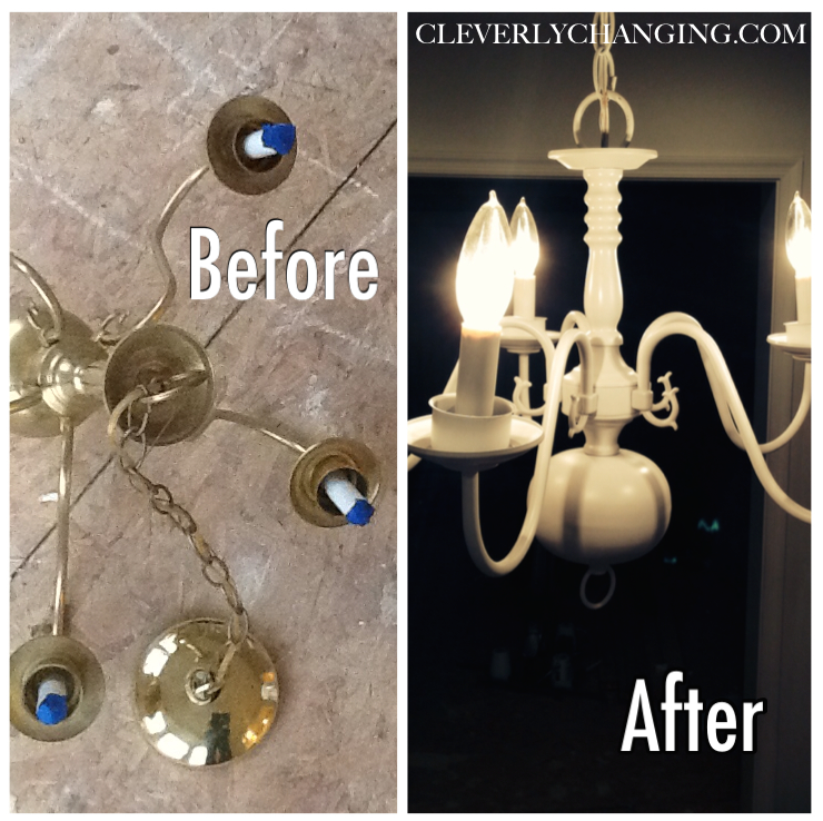 How to update a chandelier
