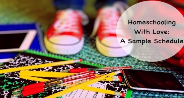 A Sample Homeschool Schedule