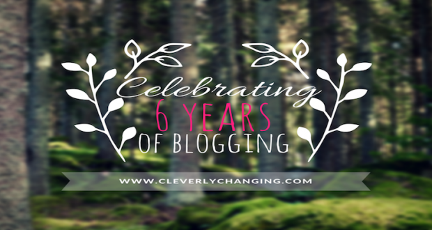 Celebrating 6 yrs Blogging Banner
