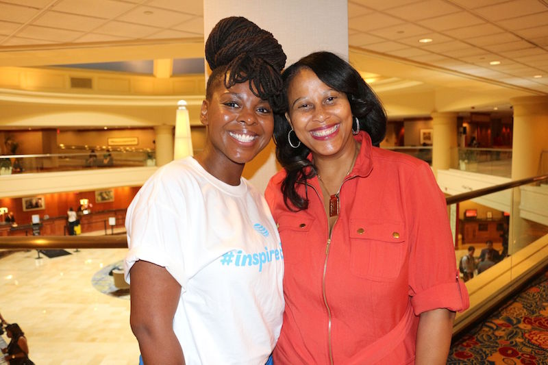 Me, and Michelle Singletary a finance columnist from the Washington Post