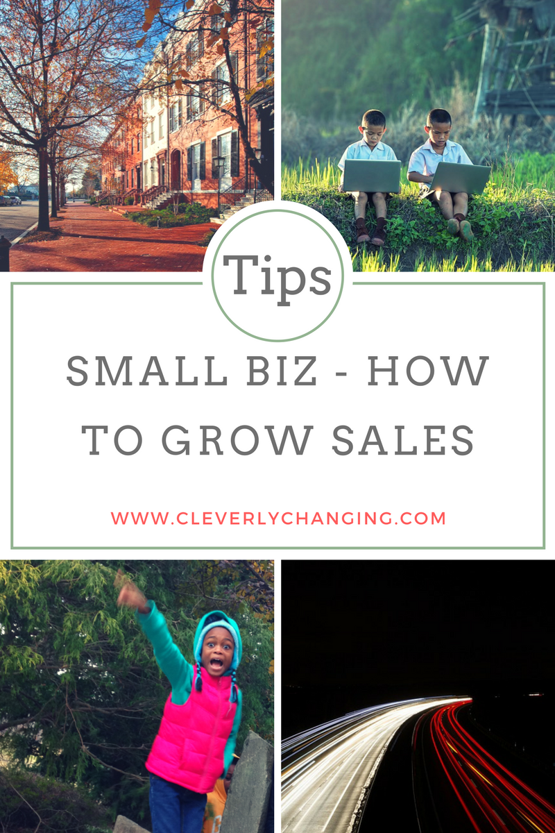 Small Biz Monday - Tips on How to Grow Sales