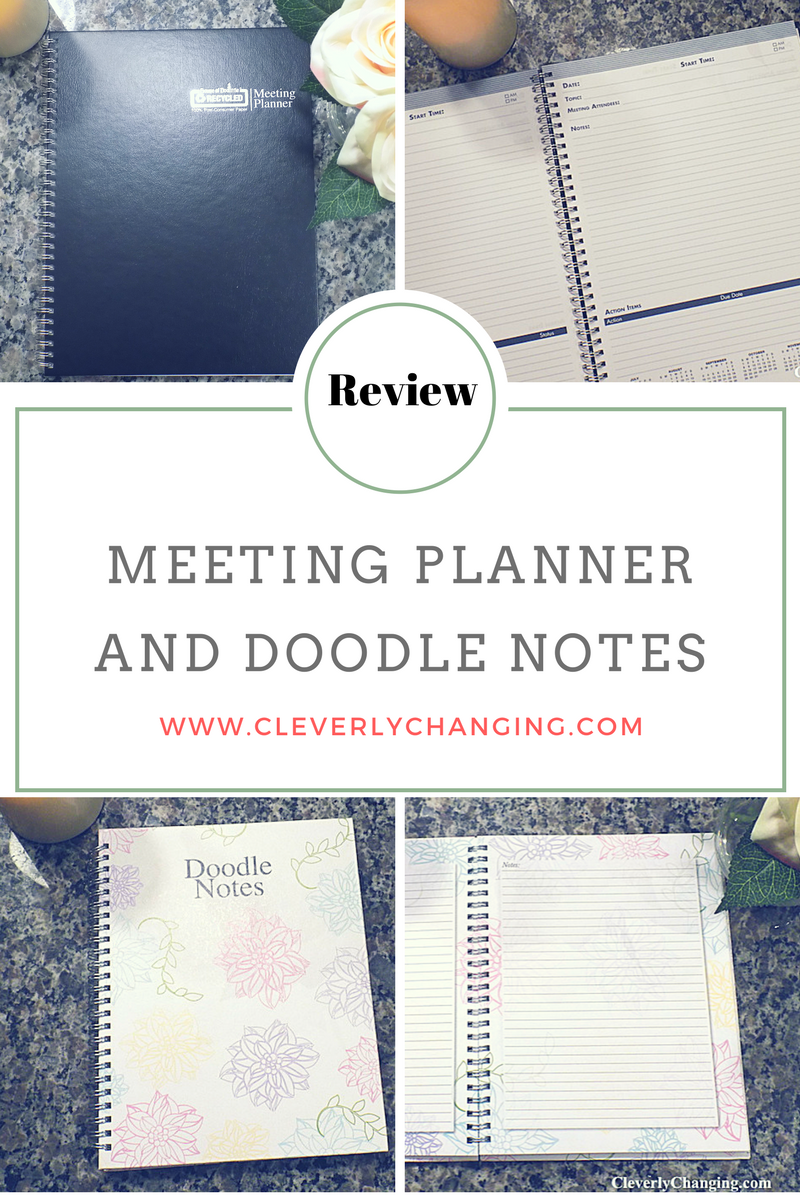 Review of House of DoLittle meeting planner and doodle notebook