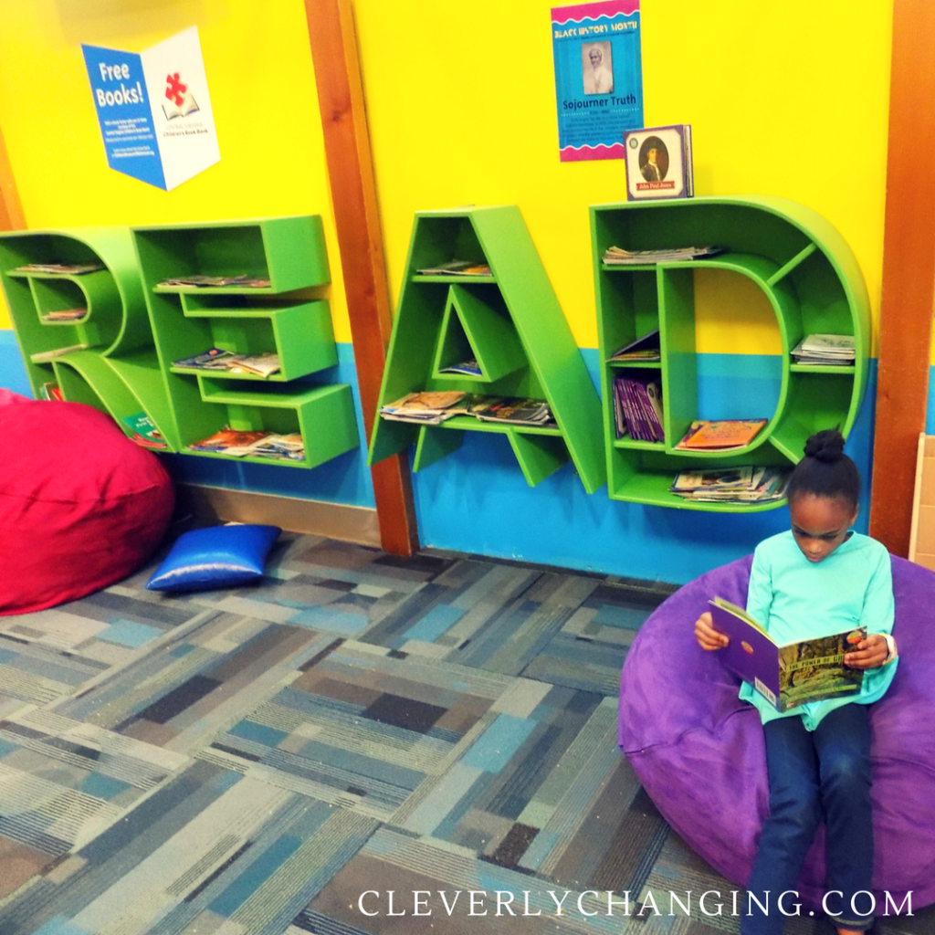 The Children's Museum of Richmond (Central location) also provides one free book to kids.