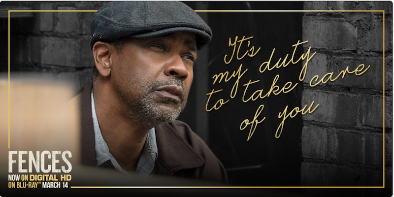 You Could Win The Fences Movie On Blu Ray Cleverly Changing