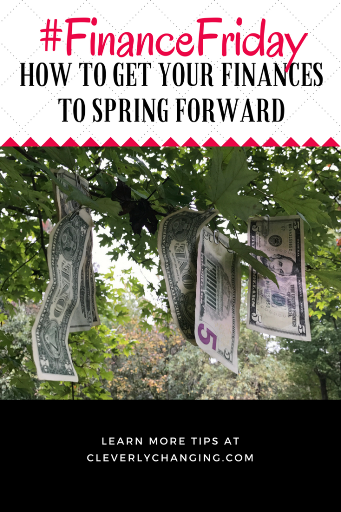 How to Get Your Finances to Spring Forward