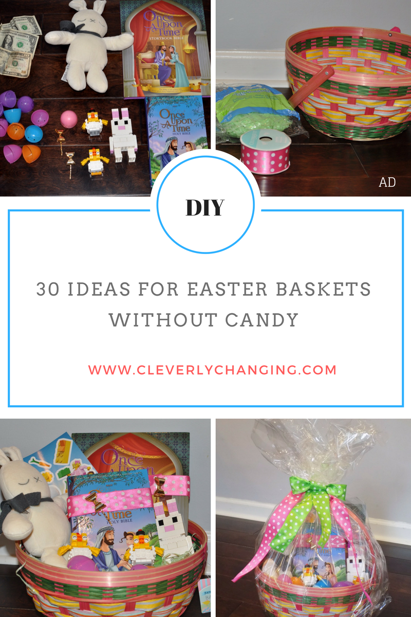30 Ideas for Easter Baskets Without Candy