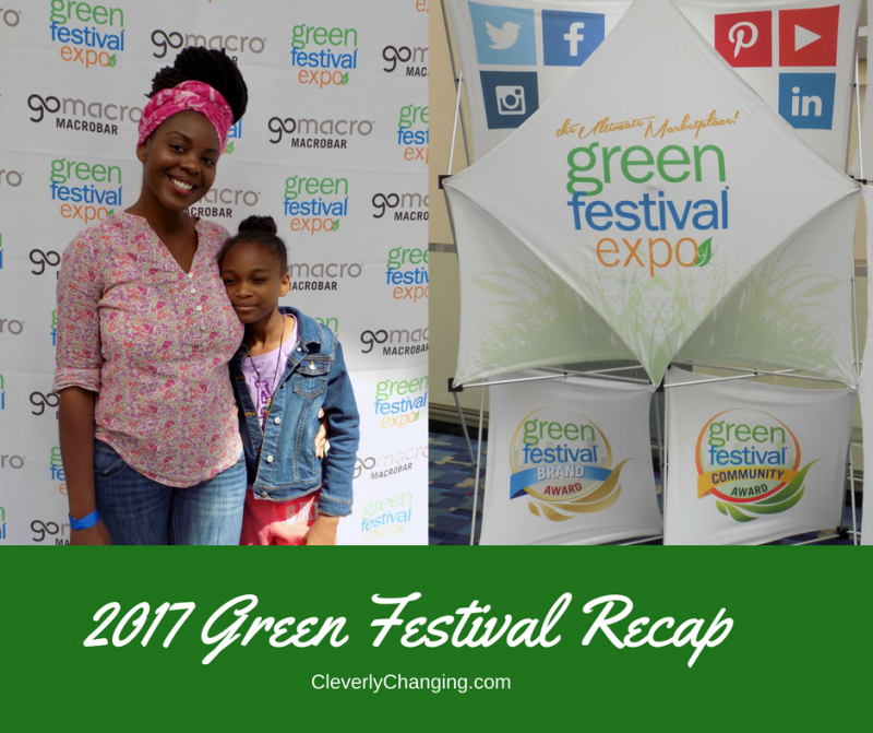 Blogger at the 2017 Green Festival Expo