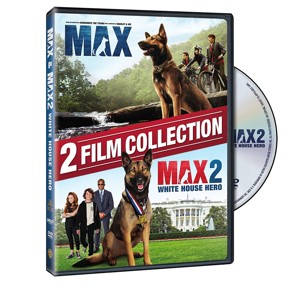 Max and Max 2 White House Hero Combo Pack