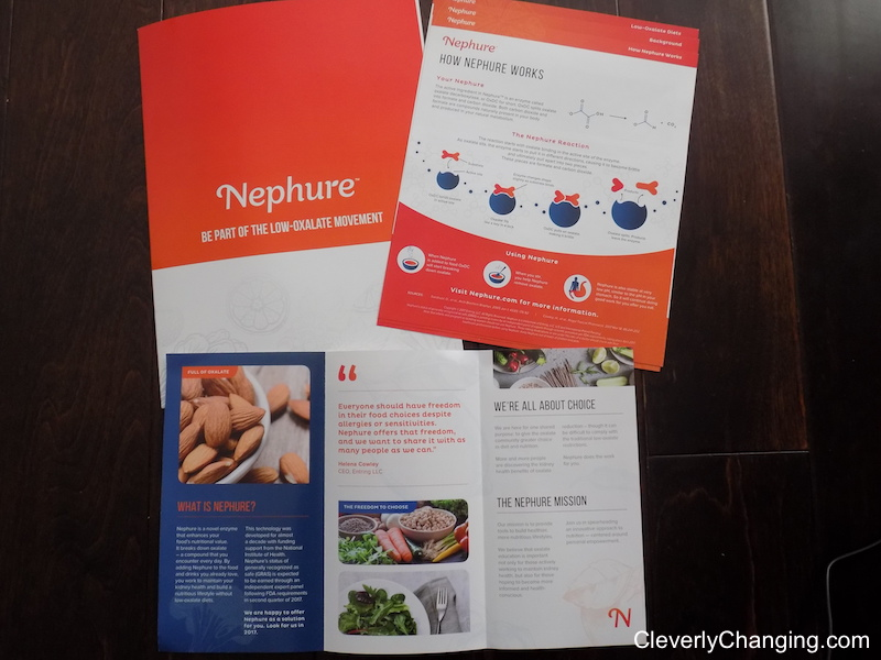 Nephure_Low Oxalate Educationa Brochures and DC Green Festival Recap