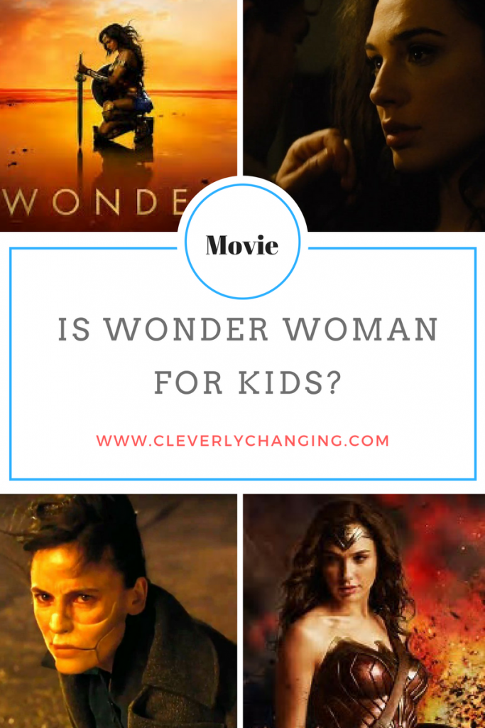 Is Wonder Woman For Kids