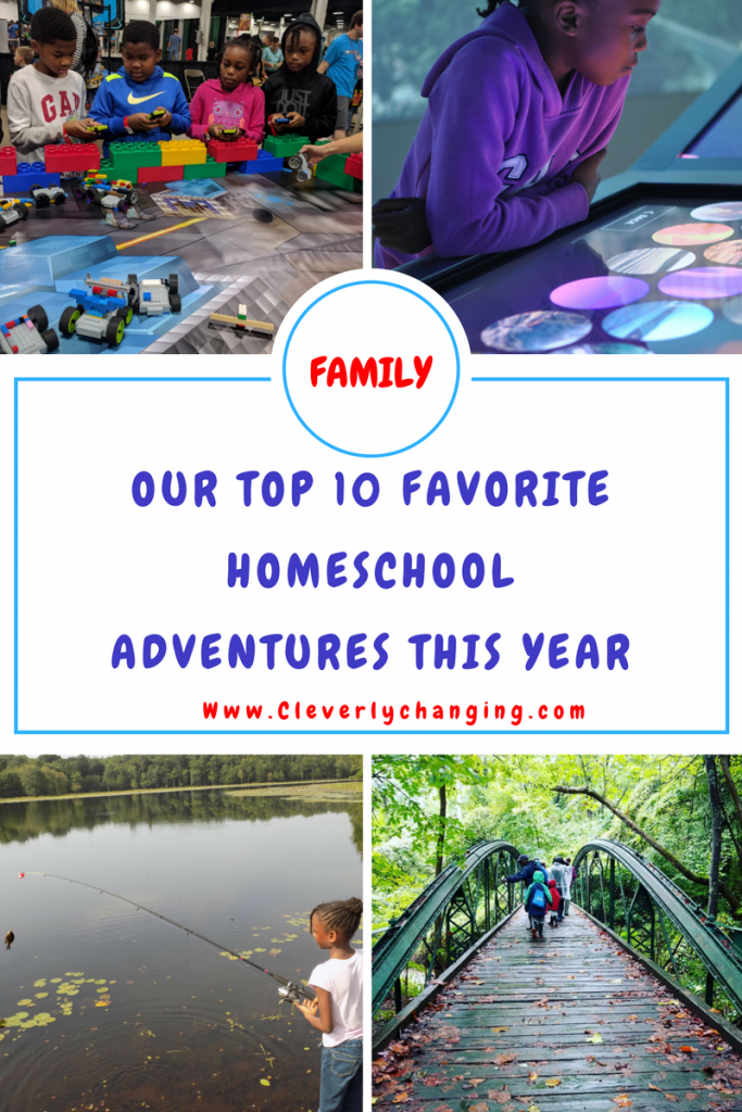 Family Homeschool Adventures Camping Minefair Museum Fishing and more within the post