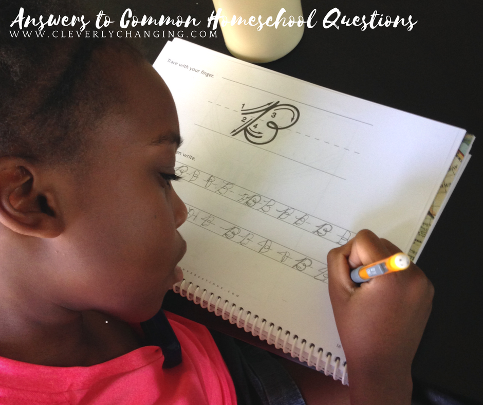 Questions Asked Homeschoolers in Maryland