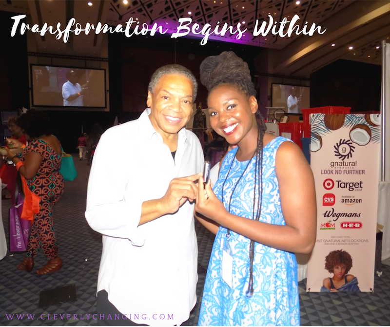 Transformation Begins Within Reggie Wells and African American Blogger Elle Cole