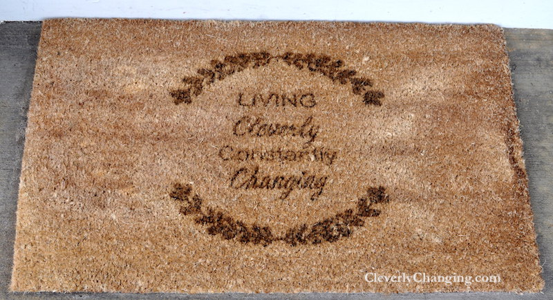 A Custom Front Door Mat (24inch by 36inch) personalized doormat review