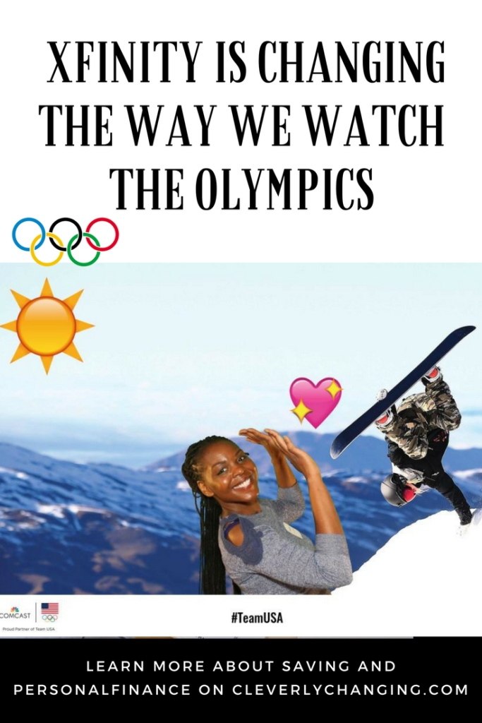 xfinity is changing the way their customers watch the olympics