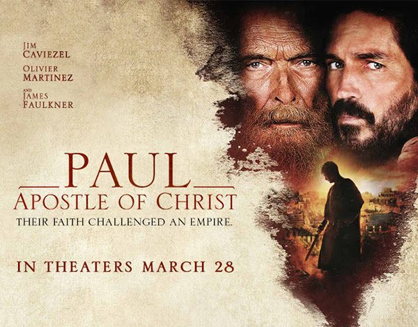 Apostle Paul Movie Giveaway