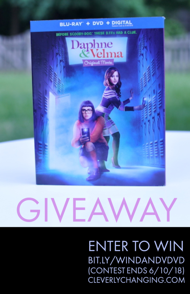 Enter to win Daphne and Velma DVD on CleverlyChanging