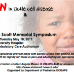 Tune in @2 EST. Today for a Live Symposium on Sickle Cell Disease