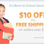 Leapfrog.com Back to School Free $10 off coupon #deal