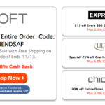 40% off your entire purchase at the Loft and more #Deals for #Frugal fashionistas