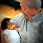 Baby Blessings: Letting Babies bond with the Elderly