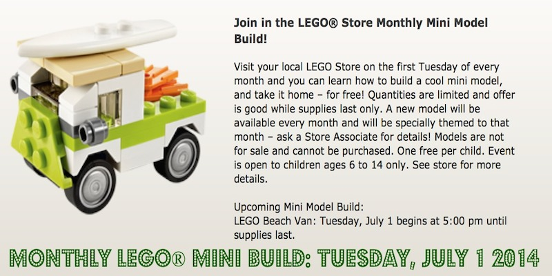 Monthly Lego Mini Build July 2014