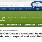 Signatures Needed:  Sickle Cell Treatment Act Bill H.R. 5124 #30forSickleCell