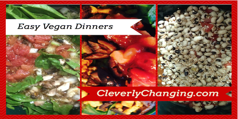 Easy Vegan Dinners #veggies #food #vegetarian #recipes